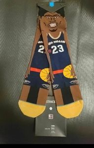 NBA Stance socks Anthony Davis Size-L 9-12
